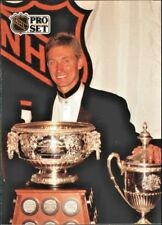 1991-92 Pro Set #324 Wayne Gretzky Trophy *FREE COMBINED SHIPPING*