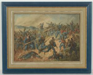 "Fritz Birkmeyer ""Bavarian 12th Infantry Regiment"", watercolor, 1873"