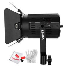 Pergear LS-60D 60W 5600K Photography Studio Monolight w/ Barn Door +Controller