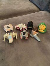 Lot Of 7 Burger King Star Wars Kids Meal Toys