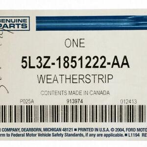 Genuine Ford Weatherstrip 5L3Z-1851222-AA
