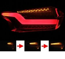 FORD FOCUS MK3 FACELIFT LED Rear Light Taillights Smoke Black Sequential Blinker