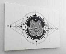 Hand Fatima Auge Schutz Leinwand Canvas Bild Wandbild Kunstdruck L2037