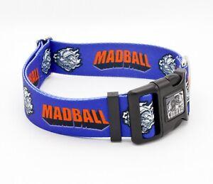"MADBALL 1"" Width Dog Collar (Sick of it All, H2O, NYHC)"