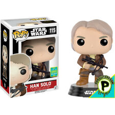 Star Wars Ep VII:The Force Awakens-Han Solo with Bowcaster Pop! Vinyl (2016 Exc)