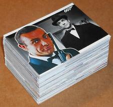 JAMES BOND HEROES /& VILLAINS FULL 81 CARD BASE SET