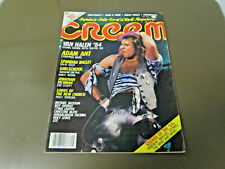 May 1984 Creem Magazine with Van Halen on cover - Billy Idol Calendar poster
