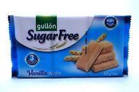 Gullon Sugar Free Vanilla Flavour Wafer Biscuits 210g Pack