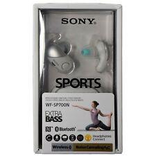 Sony WF-SP700N Sports True Wireless Noise Canceling Earbud Headphones - White
