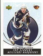 05-06 UD Upper Deck McDonalds Ilya Kovalchuk Top Scorers Insert Card #TS13 Mint