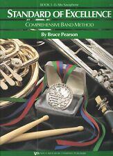Standard of Excellence Book 3 Eb Alto Saxophone