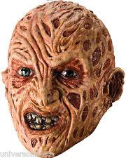 Maschera Deluxe FREDDY KRUEGER Nightmare on Elm Street COMPLETO Overhead Maschera in lattice