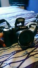 Canon PowerShot SX510 HS 12.1MP Digital Camera incl case, memory card & charger