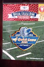 NCAA College Football Quick Lane Bowl Patch 2014/15 North Carolina, Rutgers