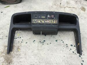 ezgo txt dash black golf cart