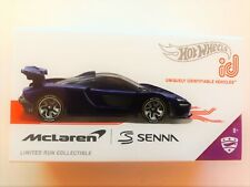 Hot Wheels ID MCLaren Senna Limited Edition FXB02-999Q Diecast 1/64