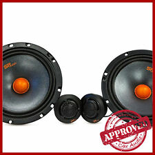 KIT 2 VIE SP AUDIO SP6.5 360 WATT 16,5CM WOOFER TWEETER STEREO CASSE