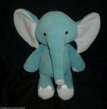 "16"" Big Circo Target Store Baby Blue Teal Gray Elephant Stuffed Animal Plush Toy"