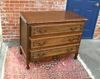 French Antique Oak Louis XV Chest of Drawers