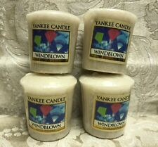 Yankee Candle  WINDBLOWN Votive Candle Set Of 4