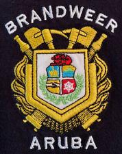 Brandweer (Fire Brigade) Aruba Fire Department Polo T-Shirt Sz L FDNY LAFD