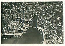 Lucerne Luzern Switzerland Schweiz Suisse Zeppelin Airship CARD IMAGE 30s