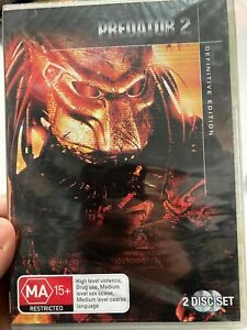 Predator 2 - Definitive Edition NEW region 4 DVD (2 discs) 1990 sci-fi movie
