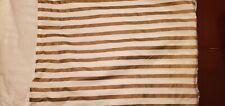 Pottery Barn Teen Emily & Meritt Metallic Stripe Full Bed Skirt - Free Shipping