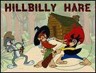 "BUGS BUNNY FRIDGE MAGNET. 4"" X 5"". ""HILLBILLY HARE""... FREE SHIPPING"