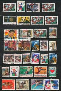 Various 29 Cent Commemoratives, Conditions Vary, used and off paper