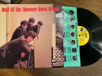 BEST OF SPENCER DAVIS GROUP LP (STEVE WINWOOD)  EXC VINYL RECORD Rhino RNLP117