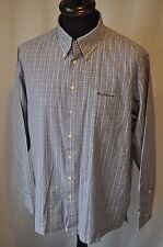 Ben Sherman blue check shirt size large casual mod