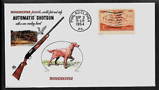 1954 Winchester Automatic Shotgun Featured on Collector's Envelope *A161