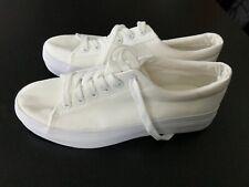 New Look Woman's White Platform Trainers Size Uk 5 Eu 38