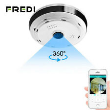 FREDI IP Camera WiFi 960P HD 360 Degree Panoramic Wireless Fisheye Security Cam