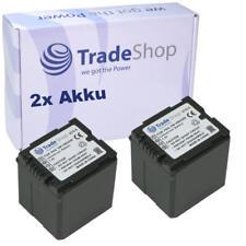 2x AKKU für Panasonic Lumix DMC-L10 Serie DMC-L10K DMC-L10KEB-K DMC-L10KEG-K