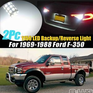 2Pc 1156(BA15S) 27SMD Bright White Backup/Reverse Light for 1969-1988 Ford F-350