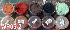 WPS05-2 DAVE'S WEATHERING POWDERS ALL NATURAL EARTH PIGMENT 5 COLOR SET 2