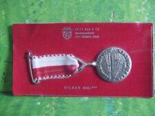 Medaille am Band, 800 Silber, 6, Lehrter Volkslauf und Volksgehen 1972