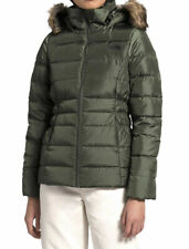 The North Face Gotham II Faux Fur Hooded Jacket New Taupe Plus Size 3XL New