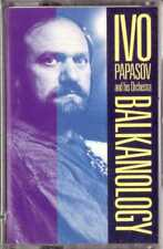 IVO PAPASOV AND HIS ORCHESTRA Balkanology CASSETTE Top Bulgarian/Ethnic Music