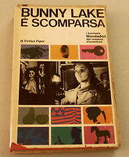 1966c = BUNNY LAKE E' SCOMPARSA = EVELYN  PIPER.  MONDADORI.ETNA
