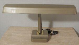 Vintage Industrial Metal Desk Lamp Retro mid century Look Functional w/bulb EUC