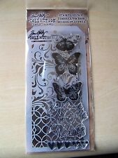 TIM HOLTZ - STAMPERS ANONYMOUS - STAMPS/STENCIL - BUTTERFLIES