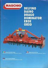 Farm Implement Brochure - Maschio - Delfino et al Power Harrow - c2010 (F5107)