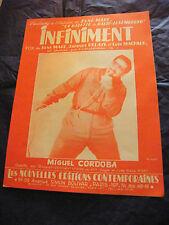Partition Infiniment Miguel Cordoba René Marc Jacques Delaye Luis Machaco 1962