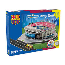 Paul Lamond Games-Barcelona CAMP NOU Stadium 3D Rompecabezas En Caja