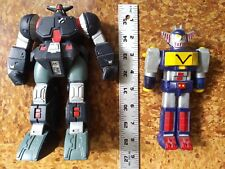 "BANDAI - Vintage Robot Lot - 6"" and 8"" - JAPAN  - Voltron ? Transformer ?"