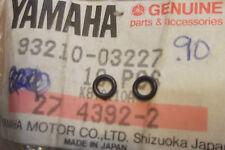 YAMAHA XS500  TX500  1973>1975  GENUINE NOS PILOT SCREW O-RINGS - # 93210-03227