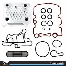 Upgraded Oil Cooler Kit Ford E-350 E-450 F-250 F-350 F-450 F-550 Excursion 6.0L